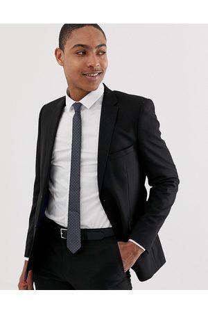Burton Skinny suit jacket in black