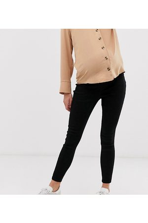 ASOS ASOS DESIGN Maternity pull on jegging in clean black with under the bump waistband