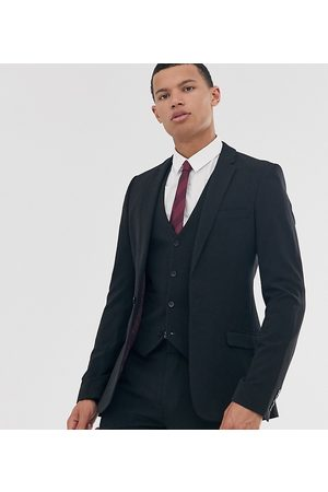 ASOS Tall super skinny fit suit jacket in black