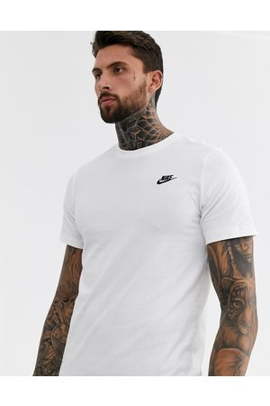 Nike Club Futura t-shirt in white