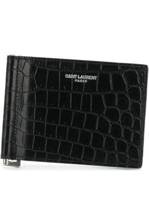 Saint Laurent Logo cardholder wallet