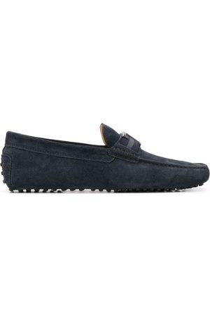 Tod's Monogram picot driving shoes
