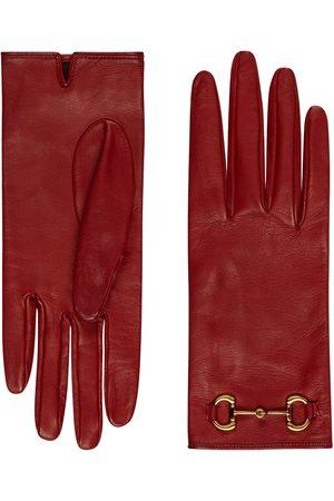 Gucci Horsebit detail gloves