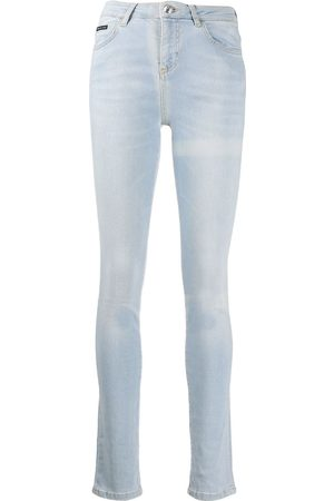 Philipp Plein High-rise skinny jeans
