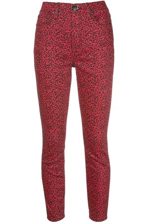 ALICE+OLIVIA Leopard skinny trousers