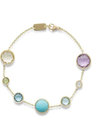 Ippolita Ženy Náramky - 18kt yellow gold Lollipop 7 multi-stone bracelet