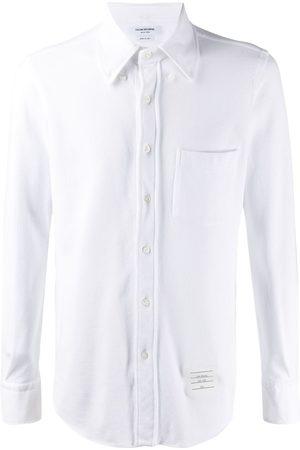 Thom Browne Classic pique long sleeve shirt