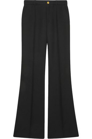 Gucci Flared high-waisted trousers
