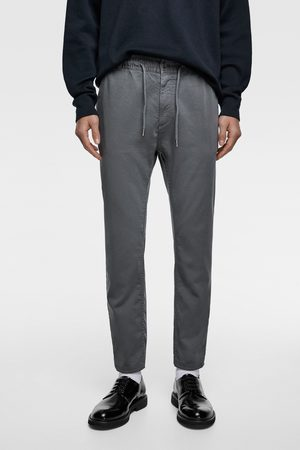Zara Kalhoty jogger soft cotton