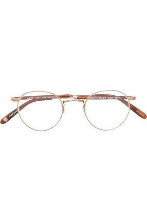 GARRETT LEIGHT Wilson round glasses