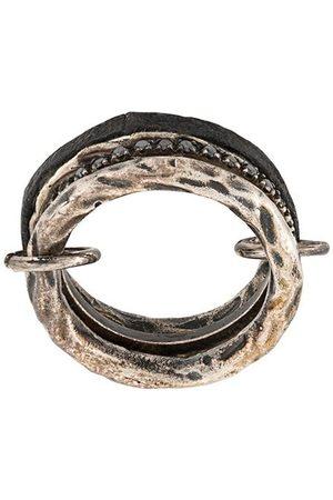GUIDI Silver-tone ring