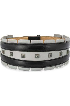 Alaïa Ženy Pásky - 1990s studded wide belt