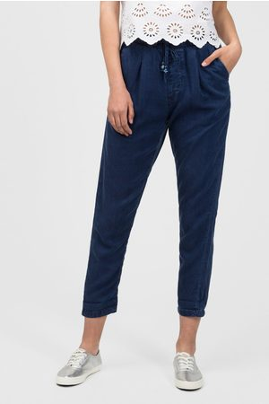 Pepe Jeans Dámské tmavě modré kalhoty Donna