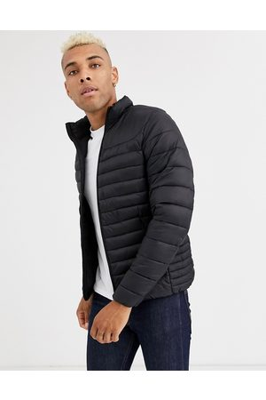 Pull&Bear Muži Péřové bundy - Join Life light puffer jacket in black