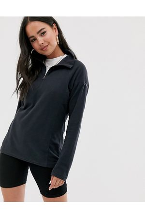 Columbia Ženy Fleecové - Glacial half zip fleece in black