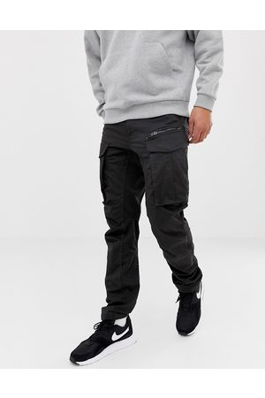 G-Star Muži Kapsáče - Rovic tapered fit zip cargo pants 3D in black