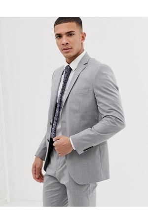 Selected Homme Slim fit suit jacket with stretch in light grey