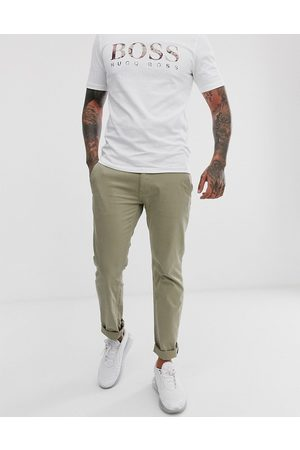 HUGO BOSS Shino slim chinos in beige
