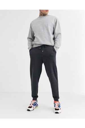 ASOS Organic tapered joggers in charcoal-Grey