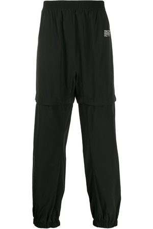 OFF-WHITE LOUNGE TRACKPANT BLACK SILVER