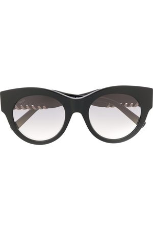 Tod's Laced round-frame glasses