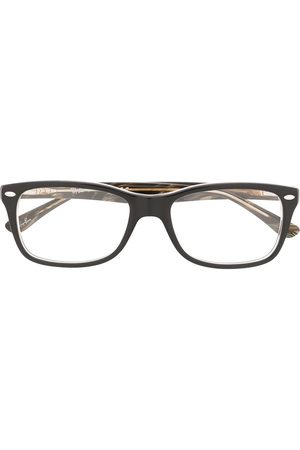 Ray-Ban Marbled effect square frame glasses