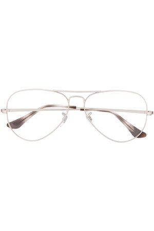 Ray-Ban Sluneční brýle - Oversized round frame glasses