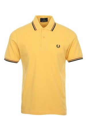 Fred Perry Polo s krátkými rukávy Twin Tipped Shirt Made In England