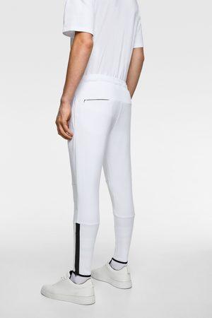 Zara Kalhoty jogger se zipy