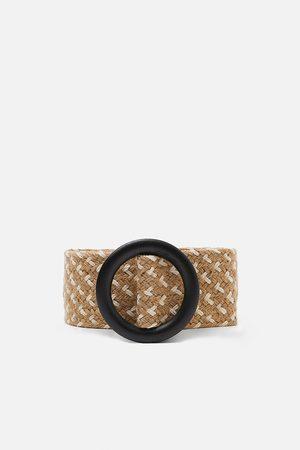 Zara Dvojbarevný zapletený pásek