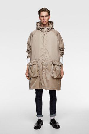 Zara Parka oversize s kapucí