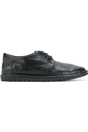 MARSÈLL Stitched panel lace up shoes