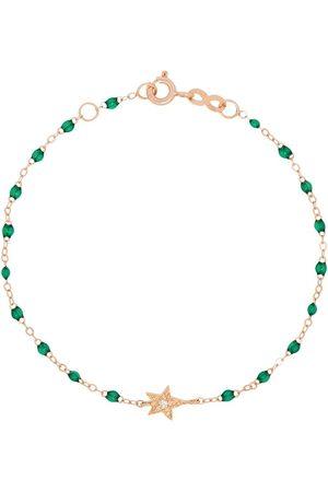 GIGI CLOZEAU 18K rose gold green diamond bracelet