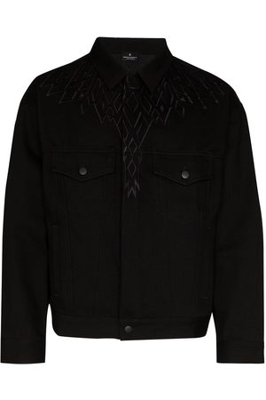 MARCELO BURLON Wings denim jacket