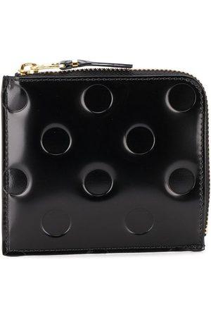 Comme des Garçons Embossed polka-dot wallet