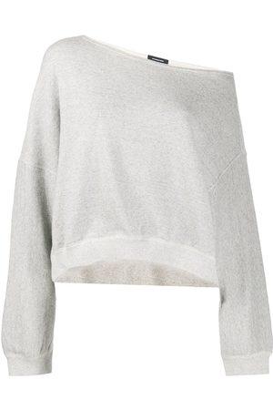 R13 Off-the-shoulder sweatshirt