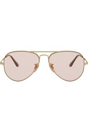 Ray-Ban Two-tone aviator-frame sunglasses