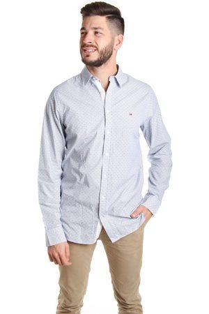 Tommy Hilfiger Muži Košile - Pánská pruhovaná košile Micro
