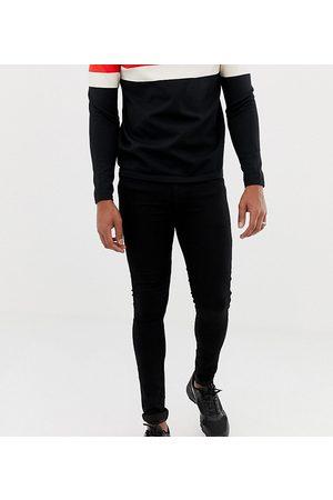 COLLUSION Muži Skinny - X001 super skinny jeans in black