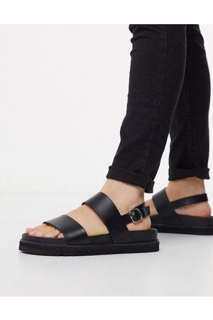 ASOS Muži Sandály - Sandals in black
