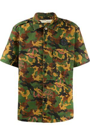 OFF-WHITE Shortsleeved camouflage shirt