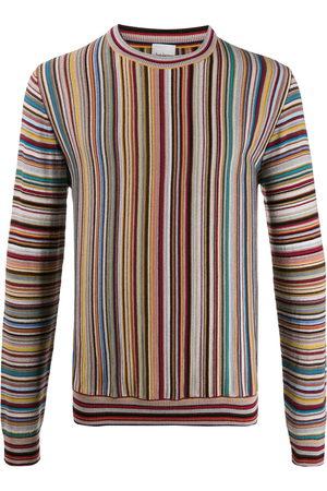Paul Smith Long sleeve striped knit jumper