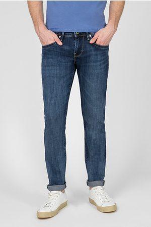 Pepe Jeans Pánské modré džíny Hatch