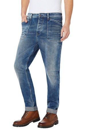 Pepe Jeans Muži Džíny - Pánské modré džíny Newton