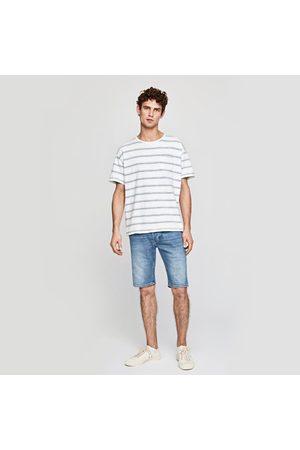 Pepe Jeans Muži Šortky - Pánské džínové šortky Stanley