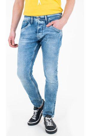 Pepe Jeans Muži Tepláky - Pánské modré džíny Track