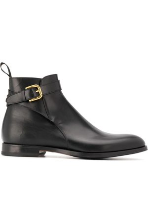 Scarosso Taylor buckled ankle boots