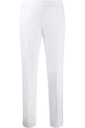 PIAZZA SEMPIONE Slim-fit tapered trousers