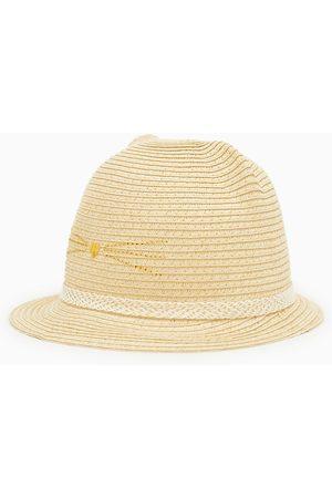 Zara Slaměný klobouk s oušky a třpytem