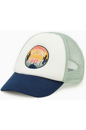 Zara čepice s výšivkou arizona
